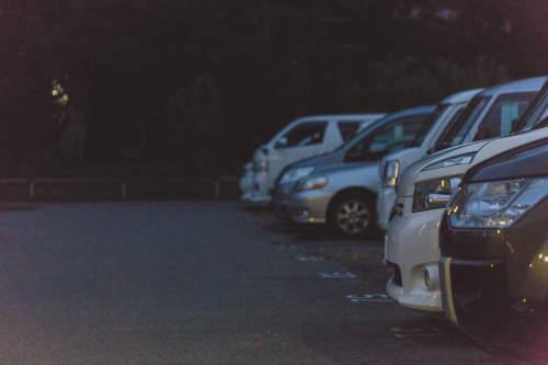 盗難車を一時保管する駐車場