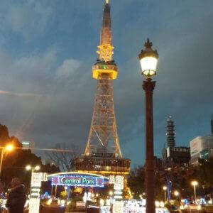 名古屋の繁華街