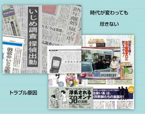 探偵に関する新聞欄